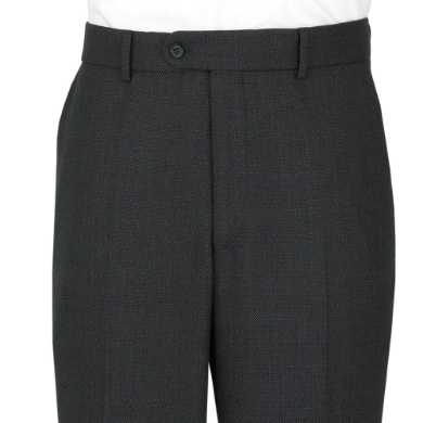 Charcoal Birds Eye Trousers