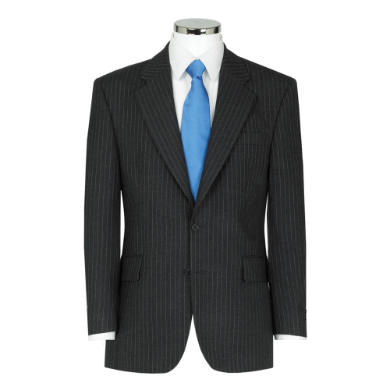 Charcoal Pin Stripe Suit