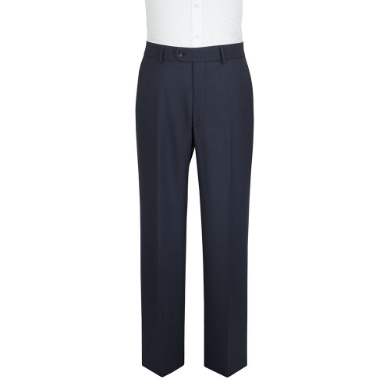 Navy Birds Eye Trousers