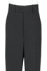 Charcoal Plain Trousers