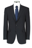 Navy Pinstriped Jacket